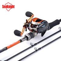 baitcasting reel tips - SeaKnight Super M Two Tips BaitCasting Lure Fishing Rod New Anti Corrosive BB Super Light BaitCasting Fishing Reel Set