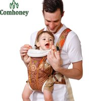 Wholesale Ergonomic Baby Carrier Multifunctional Baby Backpack Carrier Infant Newborn Baby Kangaroo Backpack Suspender Sling Wrap