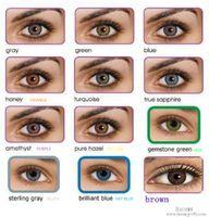 Wholesale send case Tones colors colorblend offers contact lens pairs case lenses color contact stock pair
