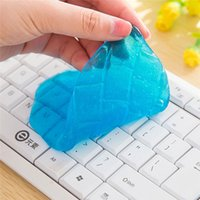 Wholesale The Keyboard Gel Cleaner Dust Germ Clean Cyber Putty Desk Computer Laptop Phone Car Toys Cleaning Mud