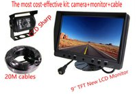 Wholesale Bus Track Camera System Camera Monitor Kit for Car Bus Track Reverse Security Systems with LCD Monitor