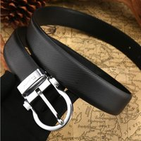 belts for jeans - HOT New Mens Belts Men s Leather Brands Jeans Belt Cummerbund Belts For Men Women Metal Buckle Luxury Designer Belts Men double f