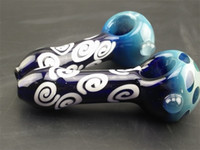 batch types - New Arrivals Good fortune Cloud Glass Smoking Pipes Keenly Selected Patterns Suitable for Collection and Use low price batch selling