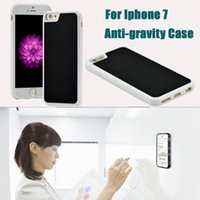 anti gravity technology - For Iphone Anti gravity Case Nano Technology TPU Case Sticky Glass Back Cover Case For Iphone S Galaxy S7 Edge DHL SCA217
