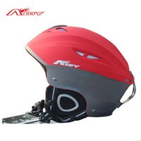 Wholesale Brand Ski helmet outdoor sports Integrally molded adjustable Snowboard motorcycle helmet kask Men Women Warm windproof Skating helmet