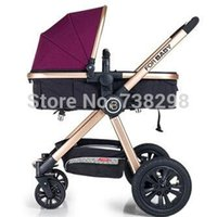 Wholesale baby stroller baby car light inflatable wheel baby stroller trolley carriage pram carrinho pushchair carrier prams and strollers