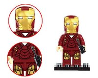 Wholesale The Avengers Marvel DC Super Heroes Series Set Building Toys New Kids Gift Compatible With Lego