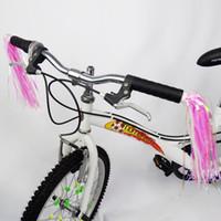 Wholesale L J Sport Kid childern bike bicycle handel tassel pair parts accessories