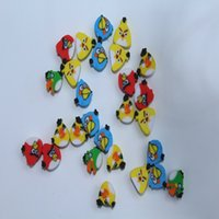 Wholesale 500pcs cm Mixed Design Q Edition Angry Birds Plasticine With Style For Kids Gift Random Delivery F Pacekage With Opp Bag