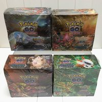 anime card game - Poke Trading Cards Games Break Through English Edition Styles Anime Pocket Monsters Cards Toys