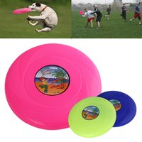 Wholesale Pet Dog Frisbee Saucer Treating Training Funny Pet Supply Dog Toys Home Garden Outdoor cm
