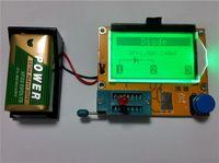Wholesale New Mega328 Transistor Tester Diode Triode Capacitance ESR Meter MOS PNP NPN L C R