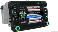 Wholesale 7 quot HD Capacitive Screen Car DVD Player with GPS Car Radio For or Skoda Octavia Fabia Rapid Superb built in Can bus Ipod RDS