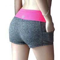 Wholesale 11 colors Women Shorts Summer Fashion Women s Casual Printed Cool women Sport Short fitness Running Shorts