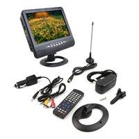 analog slot cars - Us Black New inch Portable LCD Analog TV FM MP3 USB Slot Car Reader Digital Mobile TV