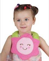 Wholesale Baby Bibs Burp Cloths Baby Feeding baby clothes Children Waterproof Silica gel Bibs Baby D Cartoon Animals BIBs