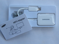 Wholesale 10pcs MHL P Micro USB MHL to HDMI Adapter HDTV Cable for Samsung Galaxy S4 S5 Note Note Note