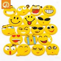 Wholesale Newest QQ Expression Emoji Fridge Magnet Cute Cartoon Fashion PVC Fridge Magnets Funny PVC Refrigerator Toy B973