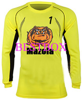 Wholesale Chilavert Paraguay goalkeeper jersey Chilavert soccer uniform Chilavert Goalkeeper long sleeve jersey can customize