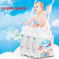 Wholesale Baby Diapers Disposable Dry Diapers pack Baby Nappies Pants Magic Stick Waterproof