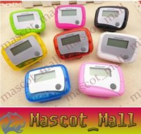 Wholesale DY178 Pocket LCD Pedometer Mini Single Function Pedometer Running Step Counter LCD Digital Walking LCD Counter With Package