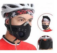 Wholesale Anti pollution City Cycling Mask riding Mouth Muffle Dustproof Masks Bicycle Sports Protect cycling mask face cover Protection free DHL