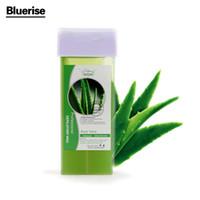 beeswax hair removal - 1 Aloe flavour Depilatory Wax Epilator Cream Facial Body Hair Removal Nonwoven Women Wax Strip Smooth Legs Beeswax Depilation D044