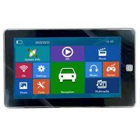 automotive screen - 7 inch Car GPS Navigator HD Touch Screen Truck Navi Bluetooth AVIN GPS CPU MP4 FM Transmitter GB IGO Primo D Maps