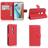 acer gel - For MOTO G4 PLAY Sony C6 ultra Acer Liquid Zest z525 Litchi Skin Flip Wallet PU leather case Card holder TPU Gel Shell cover