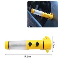 Wholesale Automotive Emergency Escape Tool in Multifunctional LED Flashlight Window Breaker Safe Cutter with Protective Groove
