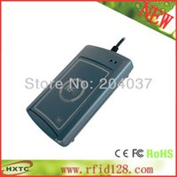 acs card - Cheap HF MHZ ISO14443 RFID RS232 NFC Smart Card Reader Writer lector ACS ACR122S with SDK Software CD