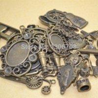 alexandrite charms - mix pattern charm metal antique bronze pendant fit jewelry making z42421 jewelry alexandrite jewelry glasses