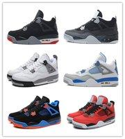 shoes basketball jordan - 20016 Retro Basketball Shoes Men Cheap J4 IV Boots Authentic Online For Sale Sneakers Mens Sport Shoes Size