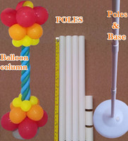 Wholesale Shipping Garden Supplies - Wedding decorations Balloon column base Plastic poles Latex balloons Bulk sale Event party supplies Garden decor classic toys free shipping