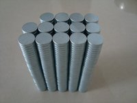 Wholesale In Stock Strong Round NdFeB Magnets Dia x1mm N35 Rare Earth Neodymium Permanent Craft DIY Magnet