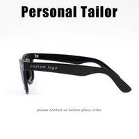 beige shade - Personalized Sunglasses Customized Sun glasses Fashion Shades Men Women Eyewear