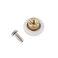Wholesale 1pc Shower Door Rollers Runners Wheels mm Wheel Diameter Replacement Part New Arrival