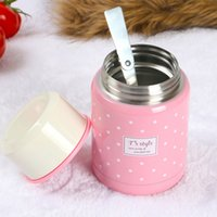 Wholesale New Stainless Steel lunch box Insulated Vacuum Bottle High Luminance lunch box free DHL shippment