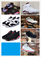 aa bonding - Sale Air Retro VI INFRARED MAROON OREO CHROME Basketball Shoes AA High Quality Version Size US Sneakers