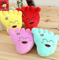 big foot doll - 18CM Cute plush multi function hang little doll Big feet foot all kinds of cartoon big pendant