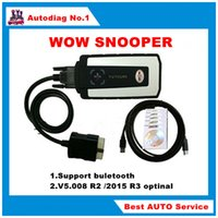Wholesale WOW Snooper with Bluetooth V5 R2 R3 optinal software tcs cdp pro Multibrand Vehicles diagnostics tools