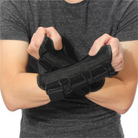 Wholesale New Carpal Tunnel Medical Wrist Support Brace Support Pads Sprain Forearm Splint Band Strap Protector Safe