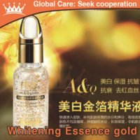 Wholesale 2 bottles faciais Arjun authentic moisturizing essence liquid Whitening K gold foil anti aging wrinkle skin care