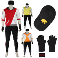 avatar free tv - Exlusive Version Arrival Pocket Monster Trainer Avatar Uniform Cosplay Costume with Gloves and Hat Customize
