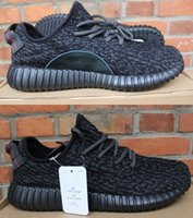 Wholesale Kanye West Yeezy Sneakers High Quality Women and Men Running Shoes Black Yeezy Boost Shoes Breathable Yeezy Walking Shoes