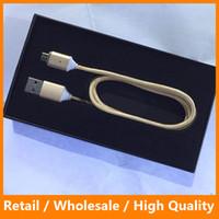 Wholesale Magnetic Cable Nylon Mirco USB Magnetic Cable Data Charge Cable Fast Charging Cable for Samsung s7 s7 edge HTC Andriod Phone
