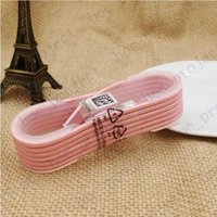 Wholesale 1 M Colorful Nylon Braided Round USB Cable Strong Fabric Micro USB and USB Data Sync Charging Cable for Android