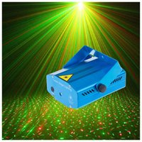Wholesale DHL Free Blue Mini LED Laser Projector Red and Green Laser Stage Light Laser Lighting For Disco Party DJ Bar Club With EU US UK AU Plug