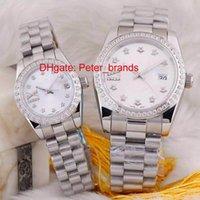auto coupling - Automatic brand fashion just couple watches cheap price high quality luxury date diamonds bezel wristwatch