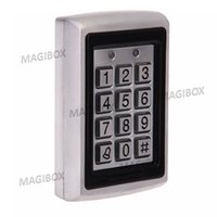 Wholesale Explosion proof Door Access Controller Proximity Card Reader with Keypad Metal Durable with keyfob